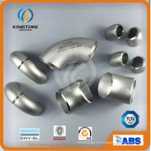 Бьютт БВ сварки фитингов из нержавеющей стали AA403 локоть (KT0355)