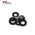 Hot ABS black plastic flat washer plastic injection mold