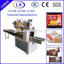 Horizontale Verpackungsmaschine für Geschirr