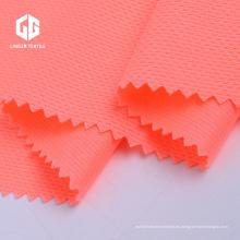 Tela de malla reciclada del hilado de poliéster para el uniforme de los deportes