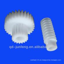 Engranaje de gusano de plástico personalizado