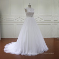 Modest White Beautiful Wedding Dress