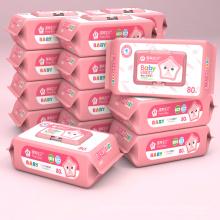 Biologisch abbaubare Clean Soften Skin Baby Wipes