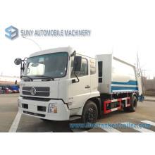 Dongfeng Tianjin 4X2 10000L compactador de basura camión