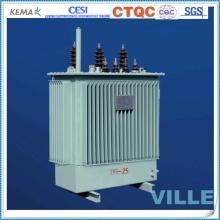 Transformadores de distribuição trifásicos de dupla bobinagem de 20 kv