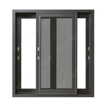 Aluminium Doors And Window Designs, Soundproof Double Glazed Aluminum Sliding Windows