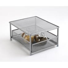 Wire Metal Home Storage Rack with Drawer