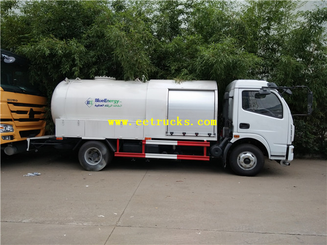 DFAC Propane Dispensing Tank Trucks