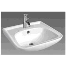 D607 Bassin de salle de bains rectangulaire en céramique