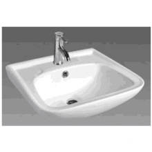 D607 Ceramic Rectangular Bathroom Basin