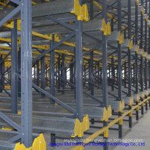 Cold Warehouse Storage Steel Radio Shuttle Rack for Auto