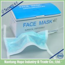 Einweg-Gesichtsmaske aus Vliesstoff für Erwachsene
