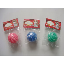 Dog Toy Vinyl Ball with Spots Pet Products