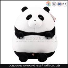Urso de panda macio bonito panda gordo pelúcia