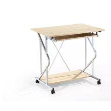 80cm modern mix colors steel frame melamine top latest design office desk 01