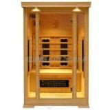 2person infrared ceramic sauna cabin,1700W
