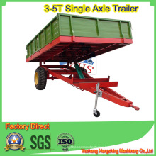 Single Axle Dump Trailer in 3tons