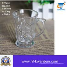 Tasse en verre pour boire de bière Literie de cuisine Kb-Jh6002