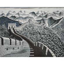 Mosaico chino Styel mano cortar imagen