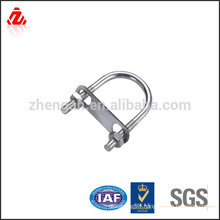 custom stainless steel flat u bolt