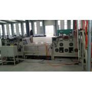 Plastic plant climbing net machine