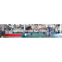 Konischer doppelter Schrauben-heißer Ausschnitt PVC-Plastikgranulator