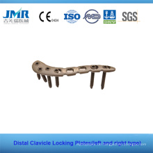 Ce China Fully Stocked Distal Clavicle Locking Platten LCP Platten