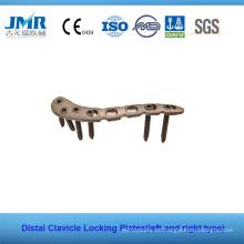 Ce Placas de bloqueo de clavícula distal de China completamente llenas Placas de LCP