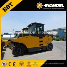 Rolo de estrada de borracha do pneu de 26 toneladas XP262 / 263 para venda / compactador à mão da placa