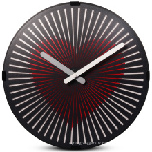 Horloge cadeau souvenir coeur battant rond