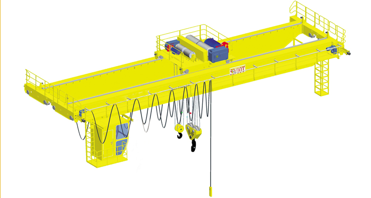 5Ton Warehouse Double Girder Overhead Crane
