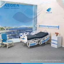 AG-BY003C con el centro de bloqueo controlado de atención médica de cinco funciones de equipos médicos camas de hospital eléctrico precios