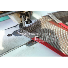 PTFE double weft mesh convey belt for drying