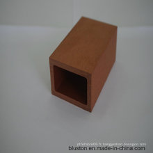 WPC Square Tube WPC Decking en bois en plastique et en composite