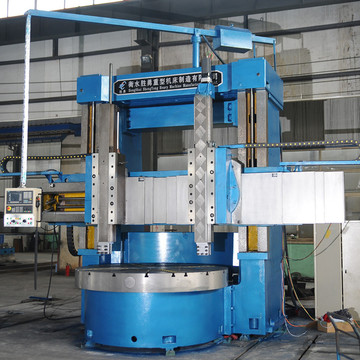 High efficiency CNC Metal vertical turning lathe