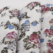 T / C Dicetak Poplin Fabric