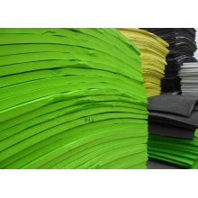 Eco-friendly Green Flat Eva Foam Sheet / Roll For Shoes Making
