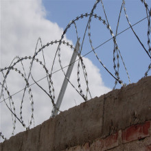 Concertina Razor Wire Fence Topping System