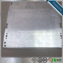 Tubo calefactor de aluminio plano superconductor compuesto