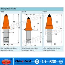 Bit de cortador de carvão de china U92 de picaretas cônicas de máquina de mineração