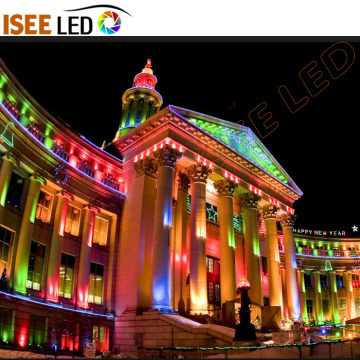Edificio Spot Lights Decoración LED Superficie Pared