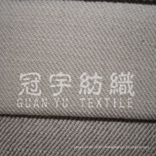 100% Polyester Imitate Linen Sofa Fabric with Nonwoven Backing