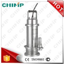 Bombas sumergibles automáticas de acero inoxidable para agua de mar (QDX3-20-0.75G)