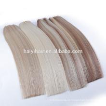 Double Drawn Haarfabrik 100 chinesische Remy Haarverlängerung
