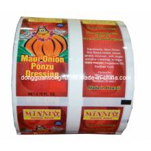 Frutas secas Empaquetado Película / Fruta Snack Roll Película / Embalaje para alimentos Película