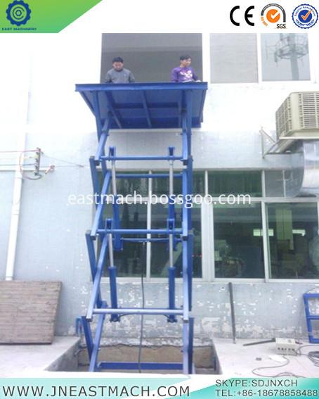 Double Shear Fork Lift Platform