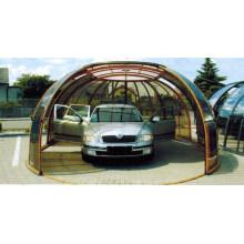 Garage au sol en alliage d'aluminium pour voiture