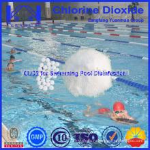 Высокоэффективная таблетка с диоксидом хлора для стерилизации бассейна