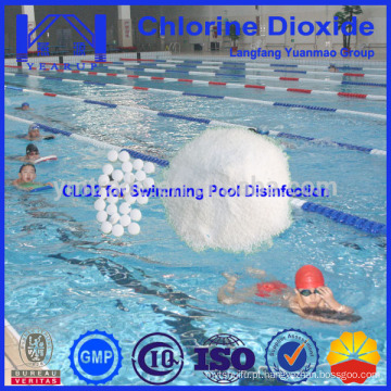 High Efficiency Cloreto Dióxido Tablet para Piscina Sterilization