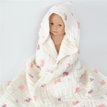 New born baby gift muslin swaddle wrap